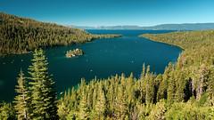 Emerald Bay with Fannette Island (Slobodan Miskovic) Tags: emerald emeraldbay laketahoe fannette fannetteisland landscape tahoe southlaketahoe nikond750 nikon nikon2470mmf28