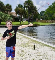 Lucky (donna_0622) Tags: fish caught fishing kids fl florida nikon d750 vacation