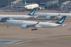 B-LRO, A350-900, Cathay Pacific, Hong Kong (ColinParker777) Tags: blro a350 a359 a350900 350900 350 airbus cathay pacific airways airlines airline airliner landing travel finals approach airplane aircraft aeroplane aviation commercial fleet cx cpa hong kong chek lap kok hkg vhhh hksar airport canon 7d 7d2 7dmk2 7dmkii 7dii 200400 l lens zoom telephoto pro