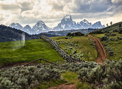 Back Roads Wyoming (jackalope22) Tags: tetons gros ventre ranch leading lines fishing jackson hole