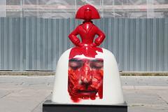 Madrid Las Meninas Parade-7 (meg williams2009) Tags: spain velasquez meninas meninasmadridgallery statues meninasstatues publicart