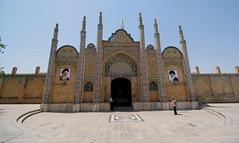 Shazdeh Hosein shrine, Qazvin (blondinrikard) Tags: iran persia qazvin travel tourism shazdehhoseinshrine shazdehhosein shrine