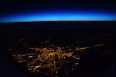 It's huge (Steenjep) Tags: cypern cyprus zypern ferie holiday rejse travel flying plane view scene dawn firstlight light glow star poland katowice