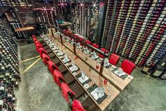 Bearfoot Bistro Wine Cellar (scout.magazine) Tags: bearfootbistro whistler wine cellar bottle cork listelhotel restaurant champagnesabre dine dining table glass britishcolumbia canada