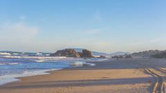 Lighthouse Beach (W. von Zeidler) Tags: afs247028 nikond810 nikon eastcoast newsouthwales nsw sunshine winter colours oceania lighthousebeach pacificocean oceanpacific portmacquarie australia meer sea water rocks beach