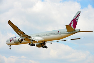 QATAR AIRWAYS, BOEING 777 - 3DZ (ER)