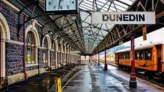Dunedin station (Miradortigre) Tags: train station estacion dunedin newzealand nuevazelanda ferrocarril railway gare