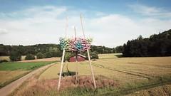 Vogelnest - The Nest (AxelN) Tags: art badenwürttemberg deutschland djimavicproplatinum drohne drone germany installation kunst kunstwerk sculptoura sculpture skulptur thenest vogelnest würmtal