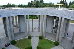 Mardasson Monument (Bastogne, België 2018)