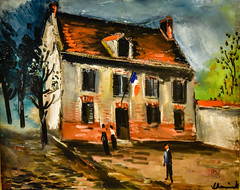 Maurice de Vlaminck - A Town Hall, 1920 at National Museum of Western Art - Tokyo Japan (mbell1975) Tags: taitōku tōkyōto japan jp maurice de vlaminck a town hall 1920 national museum western art tokyo nmwa museo musée musee muzeum museu musum müze museet finearts fine arts gallery gallerie beauxarts beaux galleria painting french expression expressionist expressionism