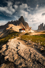 The Mountain House (Croosterpix) Tags: landscape nature mountain mountains dolomiti dolomites rocks sony a7r nikkor1835