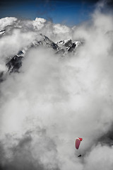 above the clouds (hess.photo) Tags: berg berge gleitschirm landschaft sport wolke wolken cloud clouds landscape landscapes montagnes mountain mountains nuage paragliding sports