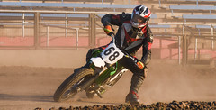 Pushing the limit (maytag97) Tags: maytag97 nikon d750 race racer speed fast dirt compete competition sport bike people motorcycle outdoor pendleton oregon outside track flat professional flattrack dirtbike
