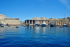 2016-06-08g rejs - Vittoriosa (13) (aknad0) Tags: malta vittoriosa morze architektura krajobraz statki