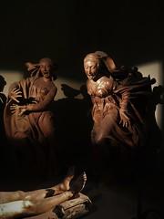 Compianto sul Cristo Morto (Mourning over the Dead Christ) (indigo_jones) Tags: earlyrenaissance italianrenaissance renaissance niccolodellarca terracotta lifesize tableau arthistory marymagdalene madonna christ josephofarimathea saintjohn chapel bologna italy italia santamariadellavita art sculpture arte grief