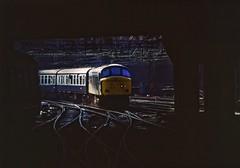 45040, Birmingham New Street, July 1983 (David Rostance) Tags: 45040 class45 peak birmingham newstreet railwaystation