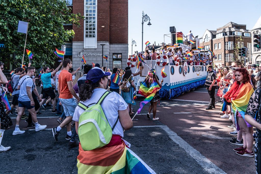 ABOUT SIXTY THOUSAND TOOK PART IN THE DUBLIN LGBTI+ PARADE TODAY[ SATURDAY 30 JUNE 2018] X-100168