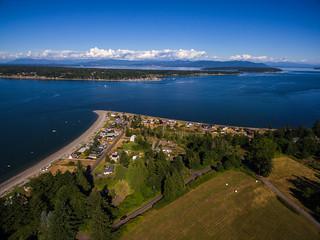 Lane Spit, Lummi Island, Washington