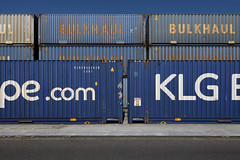 Blue Harbor 2 (LichtEinfall) Tags: img2829nh718fintope raperre hafen niehlerhafen köln container composition