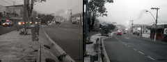 A cold morning ... (Guilherme Alex) Tags: road way transit fog mist traffic low visibility teófilootoni minasgerais brazil brasil world life living walking 2photos art amateur