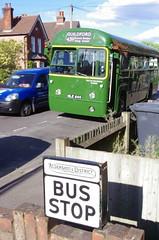 IMGP1607 (Steve Guess) Tags: guildford surrey england gb uk rf644 nle644 aec regal iv lcbs london country bus stop aldershot district