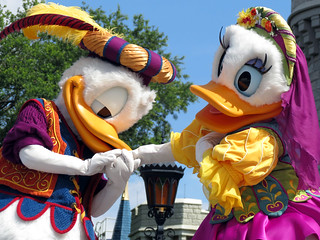 Donald and Daisy Duck