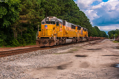 Far away from home (i nikon) Tags: up union pacific sd60 emd charleston sc