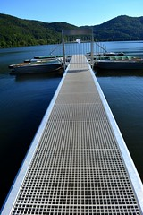 The silver bridge (Tobi_2008) Tags: brücke bridge see lake hessen deutschland germany allemagne germania