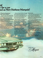1976 ZH Fairlane Marquis By Ford Page 3 Aussie Original Magazine Advertisement (Darren Marlow) Tags: 1 6 7 9 19 76 1976 zh z h f ford fairlane s sedan c car cool collectible collectors classic a automobile v vehicle aussie australia australian 70s