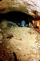 IMG_0393 (2) (SantaFeSandy) Tags: cow cowsink guybryant sandrakosterphotography sandrakosterphotographycom sandykoster sandra scuba santafesandysandrakosterphotographycom swimmers swim canon ikelite laraville mayo nsscds sandrakoster cave cavern camera catfish caves cavedivers underwaterphotography underwater experiment sidemount runningline reels wetsuit drysuit scubapro scubadiving scubadivers bare nomad nomadltz nomadls clay claybanks selfie