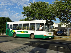 Target Travel LX05EYA (Devon and cornwall Bus Spotter) Tags: target travel lx05eya 16 dennis dart mpd estover 52 plymouth bus