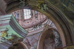 Church of St. Nicholas in Prague - Inside (alxfink) Tags: architecture church baroque prague nicholas lumix