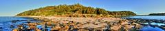 Broulee island at sunset (elphweb) Tags: fhdr falsehdr pseudohdr nsw australia brouleeisland seaside sea ocean water beach sand sandy island