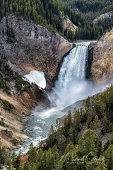 Yellowstone Falls (Theaterwiz) Tags: yellowstone theaterwiz grandcanyon grandcanyonofyellowstone lowerfallsyellowstone wyoming nationalpark waterfall yellowstonenationalpark