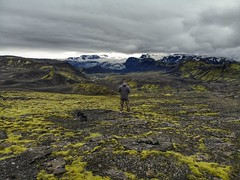 Flying in Iceland. Botnar. (rededia) Tags: drone dji flying travel iceland landscape nature mountain glacier outdoor sky highland hill peak hiking