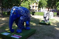 IMGP1401 (Steve Guess) Tags: london england gb uk elephant parade sculpture grosvenor gardens