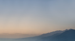 The Range (somewheredowntheroadphoto) Tags: mountain mountains range sky open fog foggy mist misty color shadow shadows distant morning sunrise sunset