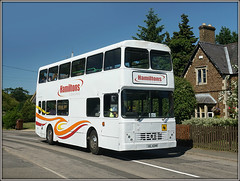 HAMMER-TIME! (Jason 87030) Tags: hammertime ucanttouchthis hamiltons rothwell guilsborough citybus watford village school contract local volvo doubledecker white orange sunny june 2018 wheels xil4348 b10m bus transport independant