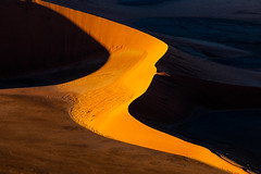Shazaam (Hilton Chen) Tags: namibia namib desert namibnaukluft national park sunrise sossusvlei dunes deep shadows leading lines highlights aerial photography doorless helicopter landscape