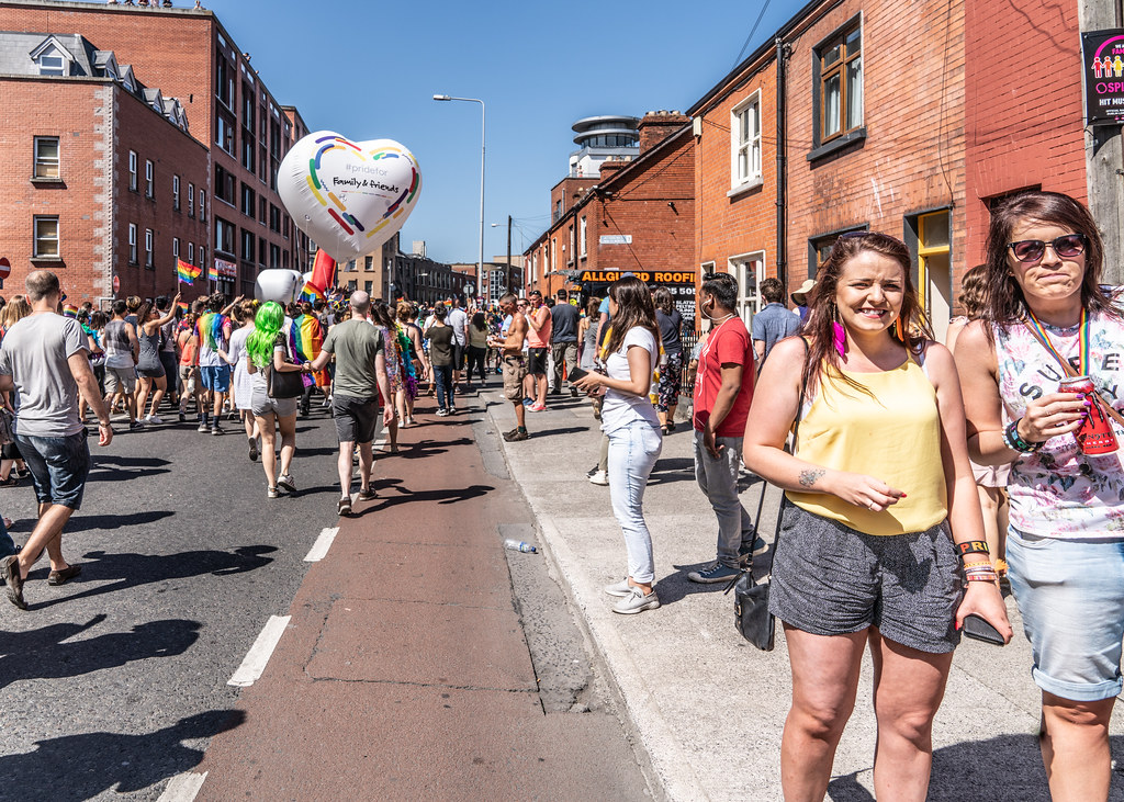 ABOUT SIXTY THOUSAND TOOK PART IN THE DUBLIN LGBTI+ PARADE TODAY[ SATURDAY 30 JUNE 2018] X-100175