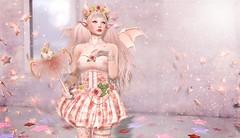 Kotori Minami... Little Devil Awakens (Duchess Flux) Tags: crystalheart theposefair zenith moon enfersombre catwa swallow song blacktulip cmyk kokoropeachu disorderly anime manga fantasy sl