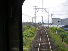 A long rail bridge (しまむー) Tags: panasonic lumix gx1 g 20mm f17 asph natural train tsugaru free pass 津軽フリーパス