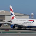 British Airways A-380 at KSFO thumbnail
