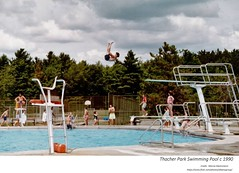 Thacher Park swimming pool circa 1990 (albany group archive) Tags: old albany ny vintage photos picture photo photograph history historic historical