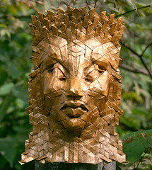 acantha 1 (origami joel) Tags: origami mask origamijoel