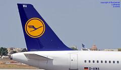 D-AIWA LMML 01-07-2018 (Burmarrad (Mark) Camenzuli Thank you for the 12.9) Tags: airline lufthansa aircraft airbus a320214 registration daiwa cn 7681 lmml 01072018