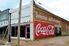 Texas, Grand Saline, Coca Cola (EC Leatherberry) Tags: texas wall advertisement cocacola softdrink soda grandsalinetexas vanzandtcounty