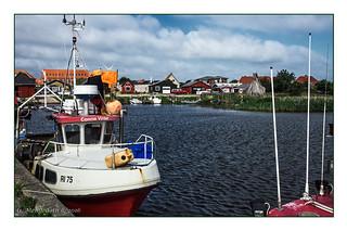 Tyskerhvnen am Ringkøbing Fjord