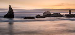 Bandon, Oregon (dcjohnson50) Tags: bandon oregon coast sunset longexposure leefilters littlestopper bigstopper canon canon5dmarkiii markiii 5d canon2470 oceancloudsskiesbeautiful pacificocean seastacks naturalbeauty seascape
