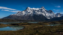 Paine Grande (view full-screen) (Piotr_PopUp) Tags: painegrande nordenskjöld lago torresdelpaine patagonia ultimaesperanza chile latinamerica southamerica mountain mountains lake nature landscape travel hiking trekking blue
